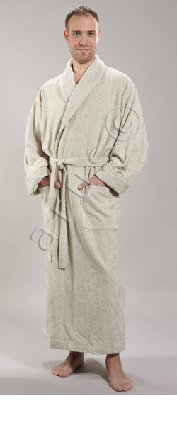 Bamboo Full Length Bathrobe For Men And For Women