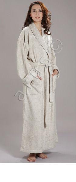 Bamboo Full Length Bathrobe For Men And For Women