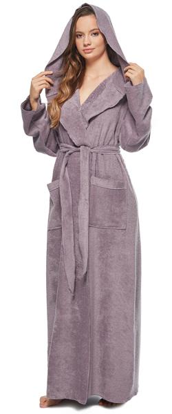 Men/'s Women/'s Atlantis Style 100/% Turkish Cotton Terry Bathrobe Made in Turkey